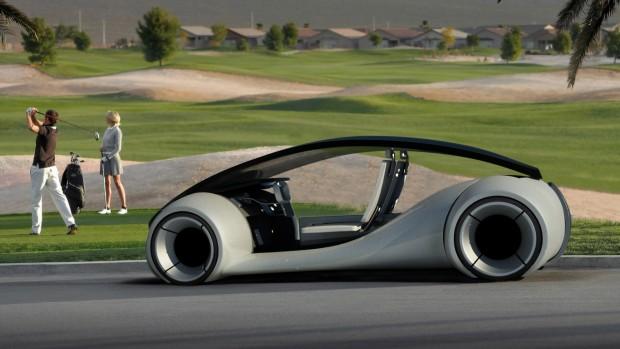 Concept de la voiture électrique d'Apple