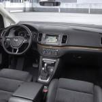 Intérieur du nouveau Sharan de Volkswagen