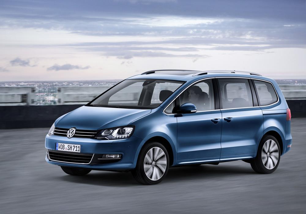 Le nouveau Volkswagen Sharan