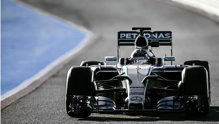 Lewis Hamilton battu par Nico Rosberg au GP d'Espagne