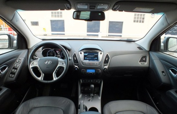 Hyundai ix35 interieur