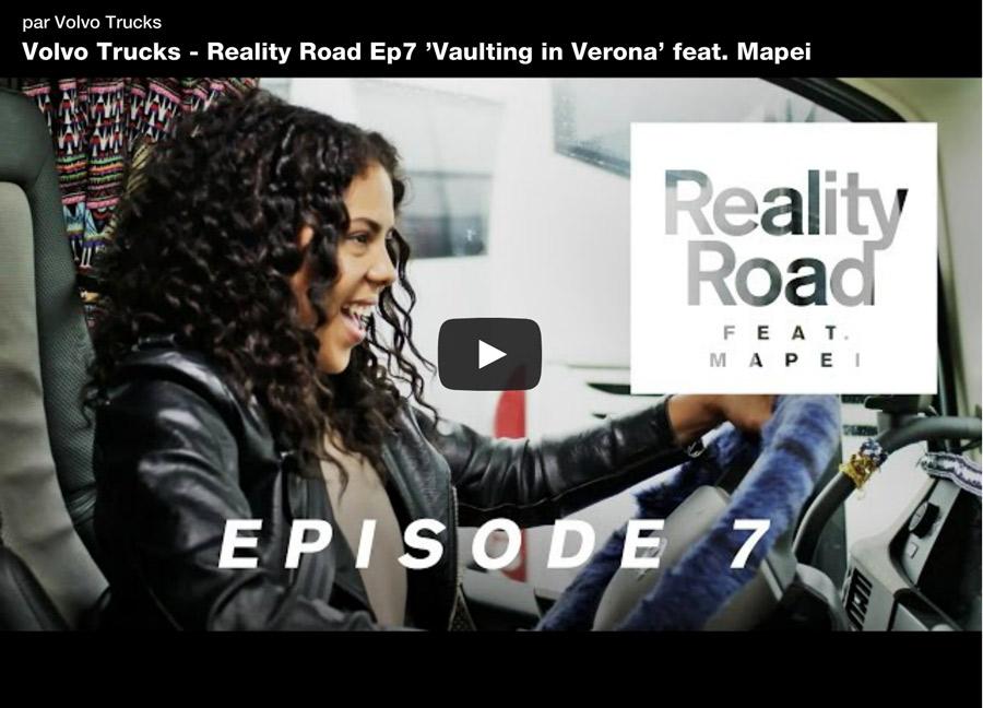 Volvo Trucks diffuse les épisodes finaux du « Reality Road »