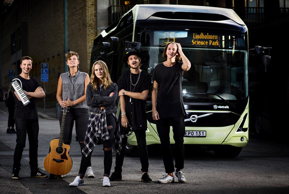 Volvo et les autobus bio : une histoire d'amour pour protéger la nature