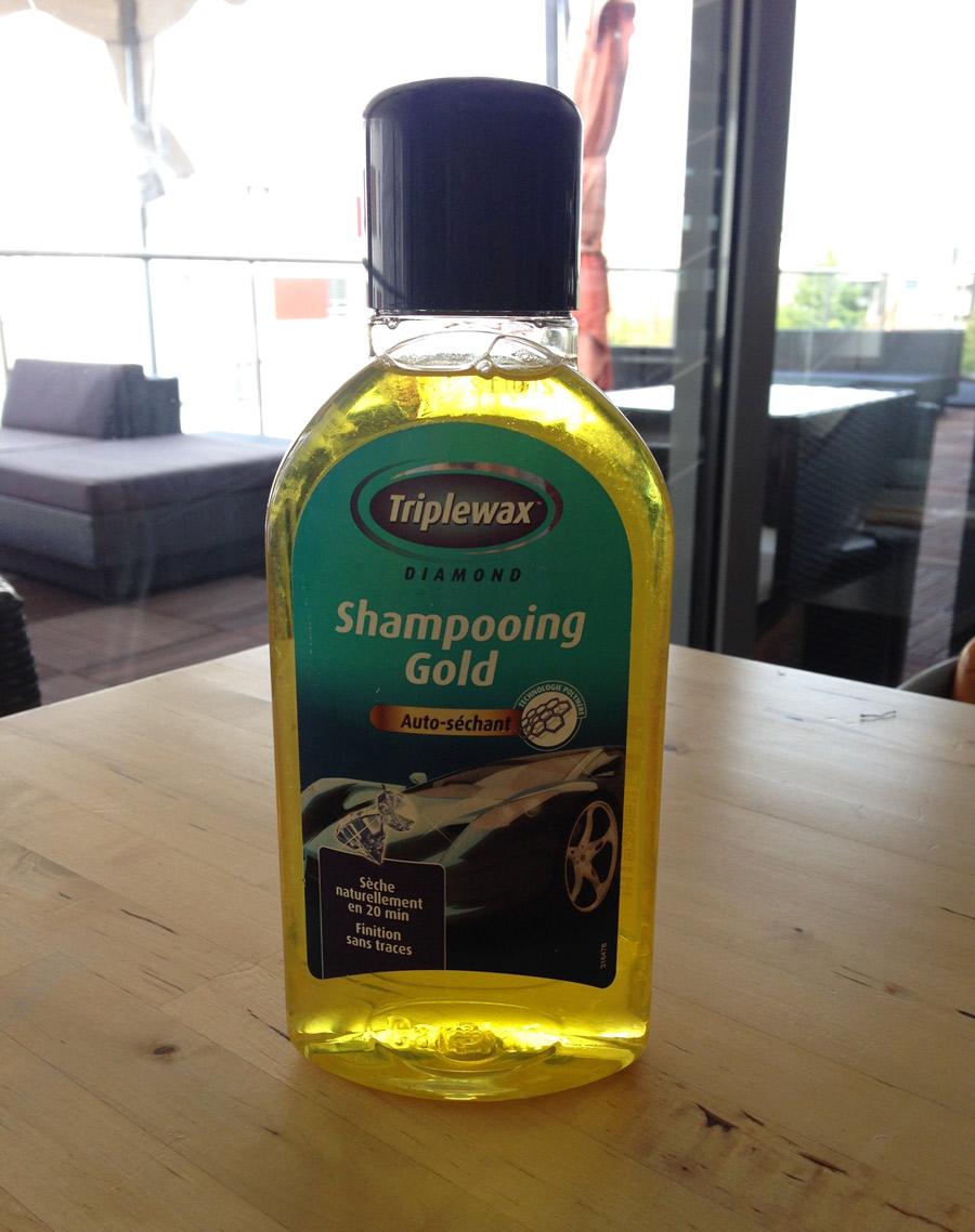 Triplewax shampooing Gold