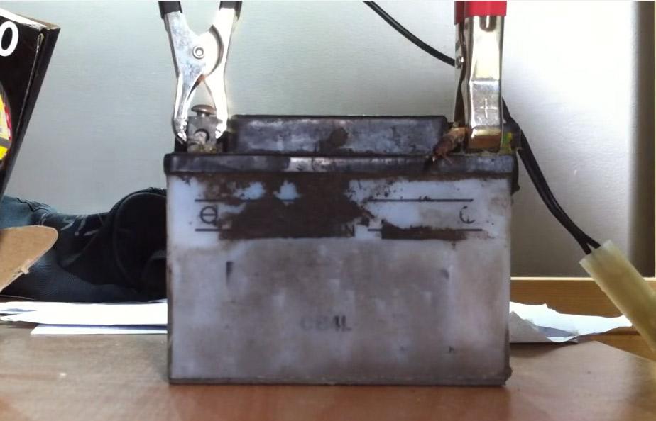 rechargement batterie moto