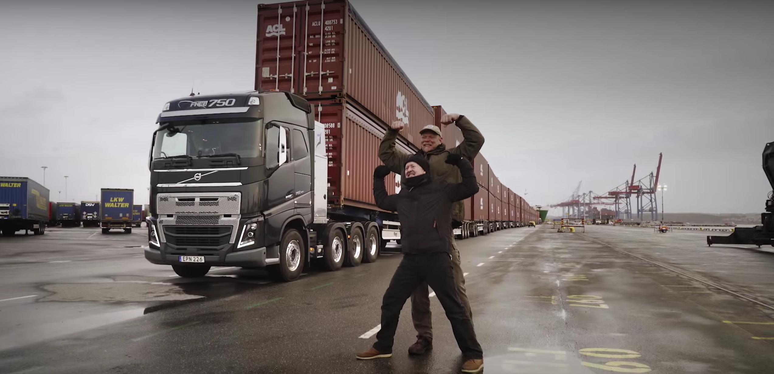 Volvo Trucks 750 tonnes