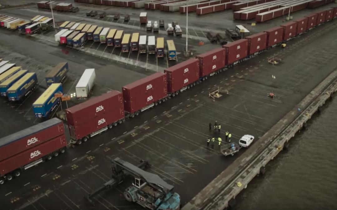 Volvo Trucks teste sa nouvelle boîte de vitesse I-Shift face à 750 tonnes