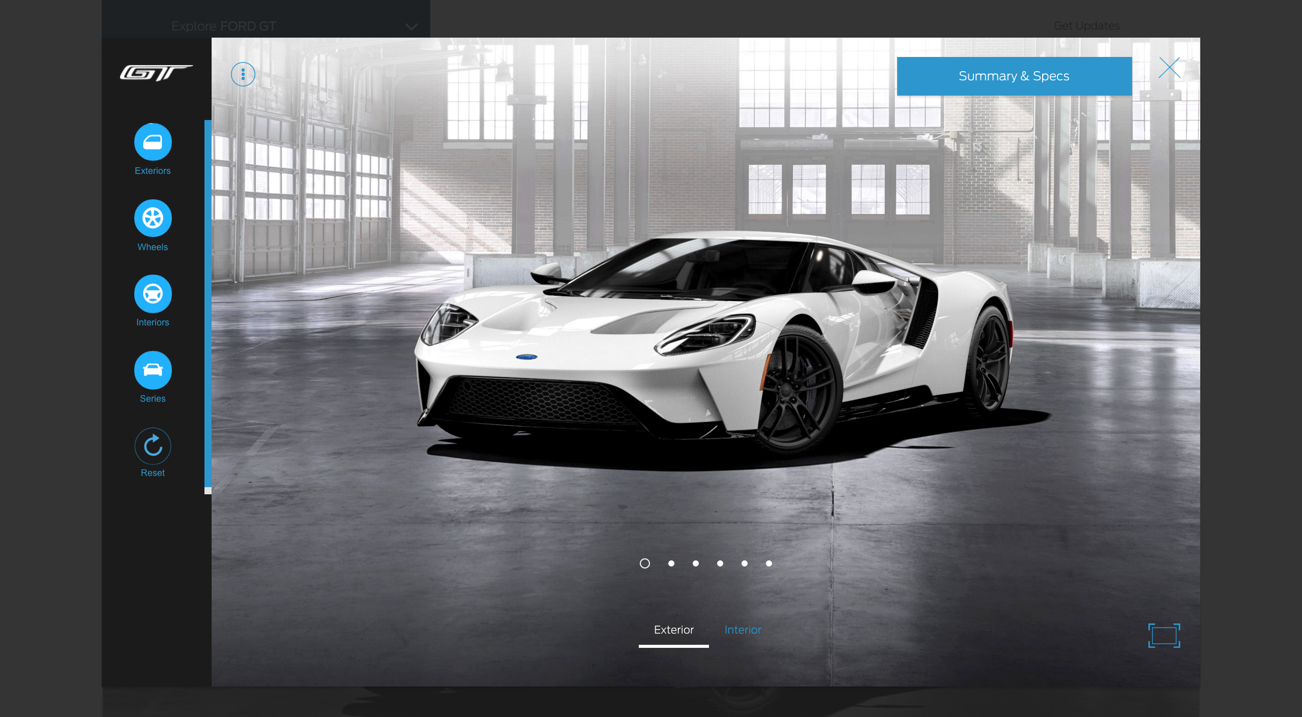 Configurateur Ford GT