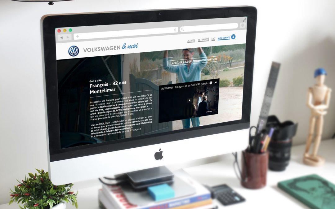 #VWetMOI : Volkswagen & MOI, la nouvelle campagne publicitaire