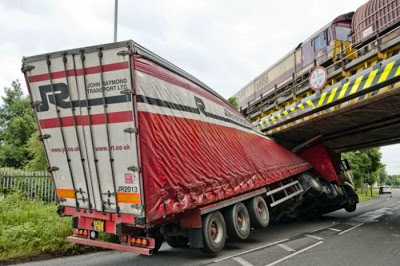 accident camion pont