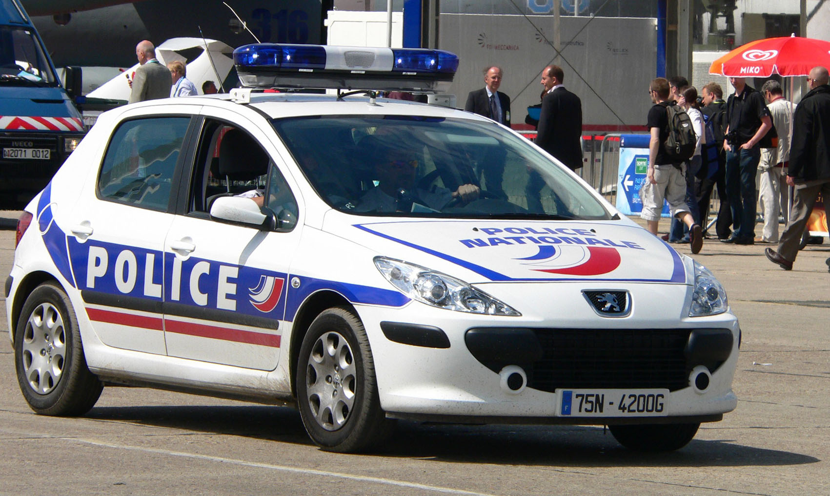 Peugeot 307 Police Nationale