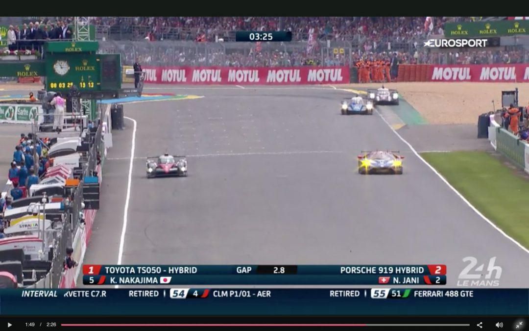 [24h Le Mans] Il pense que la course est finie, s'arrête et termine dernier