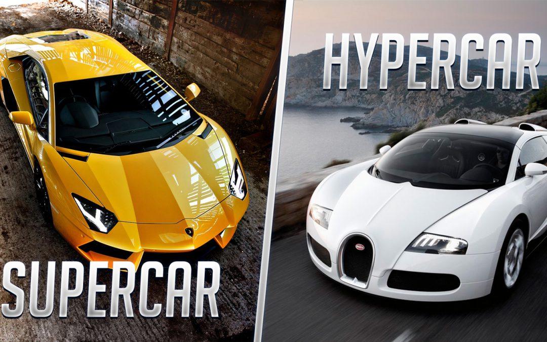 Entre supercar et hypercar, quelle limite ?