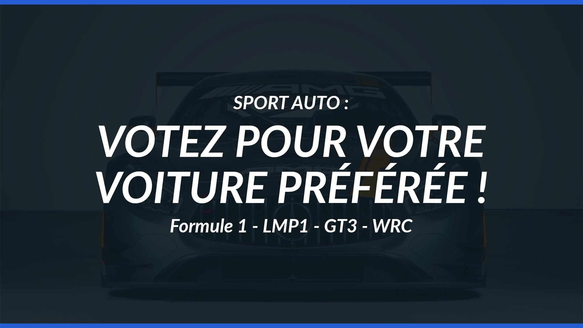 sport auto vote sondage