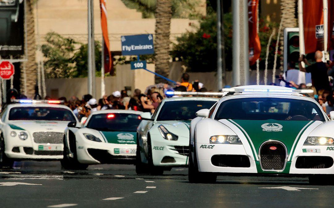 Dubaï Police Force : une flotte qui vaut près de 8 millions