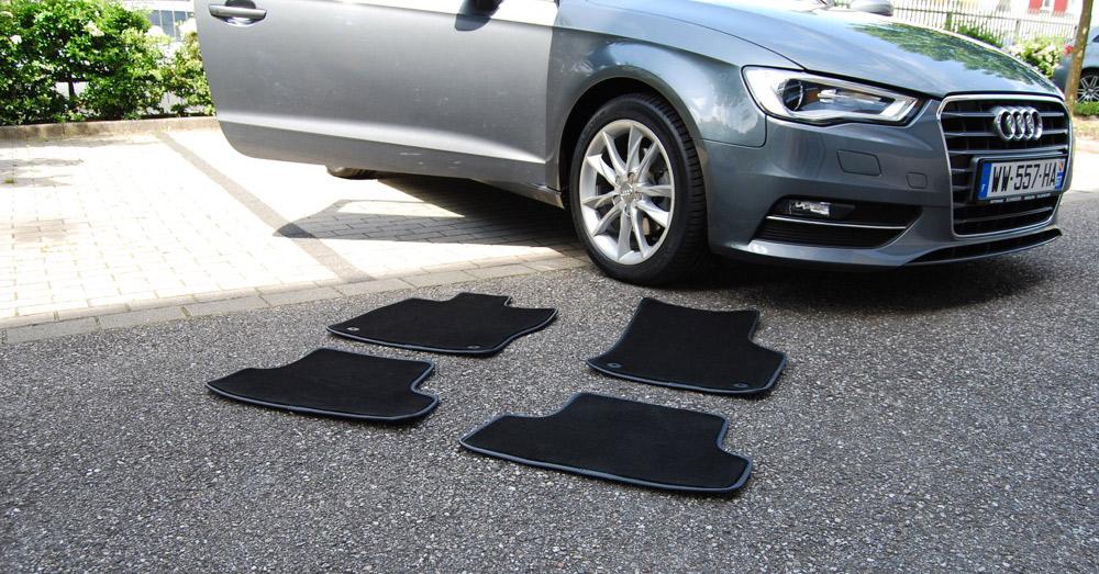 test de tapis auto de luxe aux dimensions d 39 origine news auto. Black Bedroom Furniture Sets. Home Design Ideas