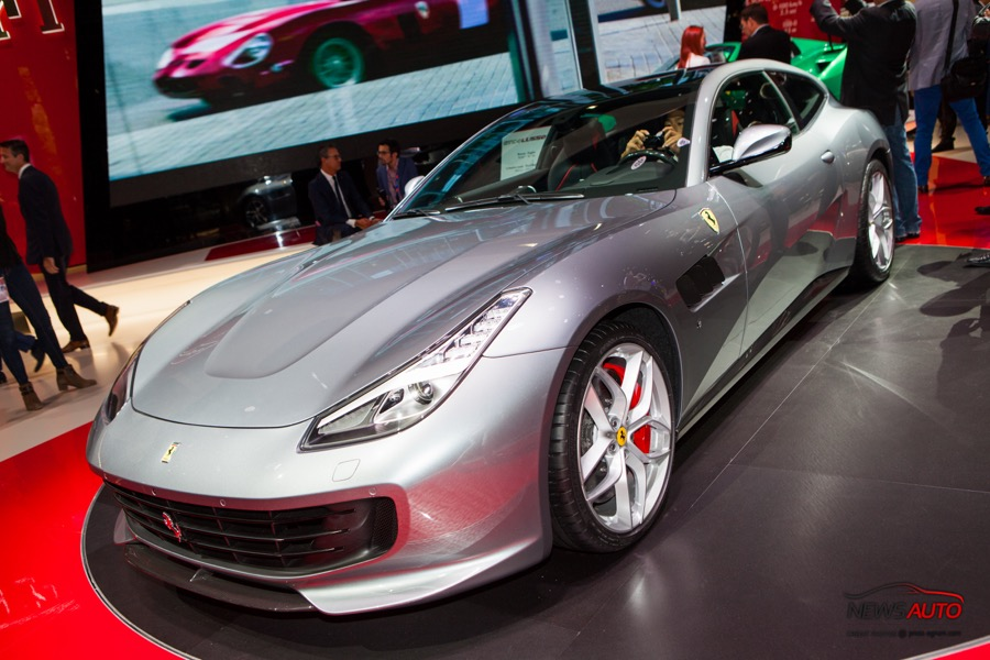 Ferrari GTC4Lusso T : un V8 ?