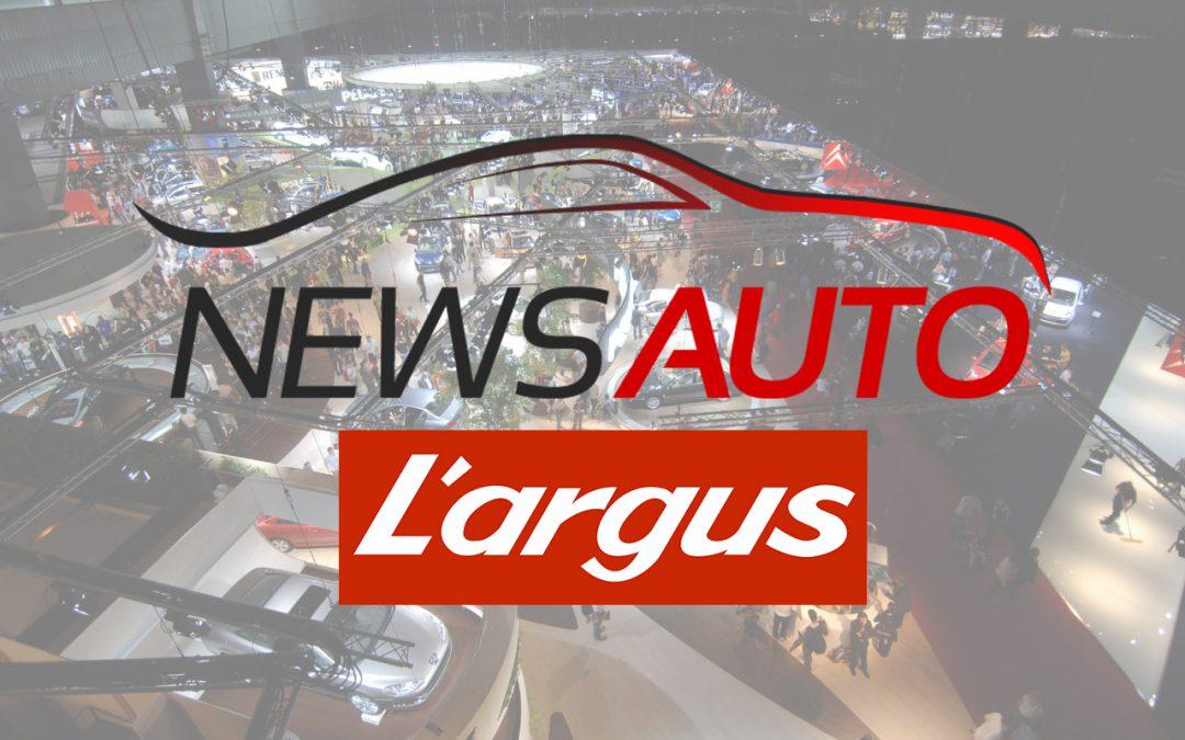 News-Auto, blogueur officiel L'Argus au Mondial de l'Auto