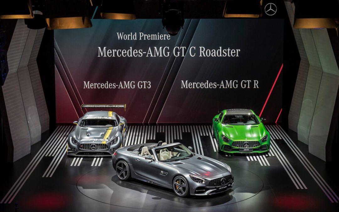 AMG GT C Roadster : décoiffée et décoiffante