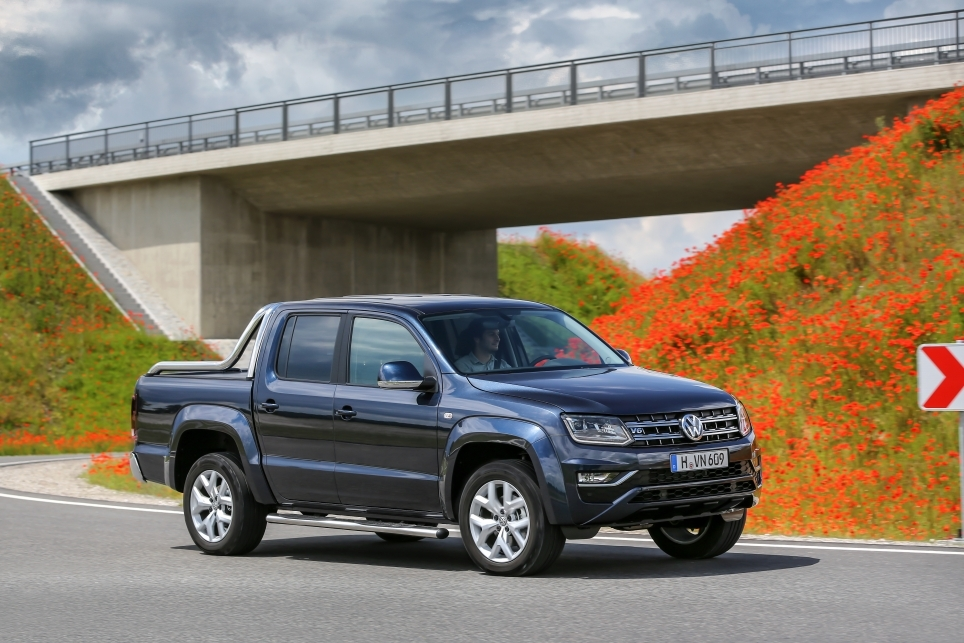 Volkswagen Amarok: un pick-up grand luxe pour 2016