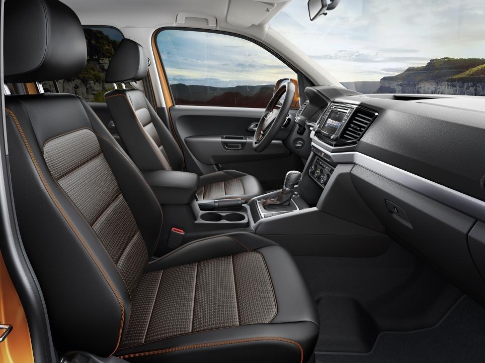 interieur Volkswagen Amarok
