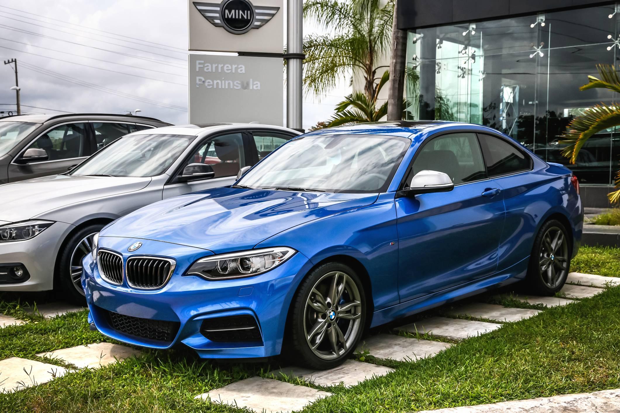 Achat d'une BMW en concession