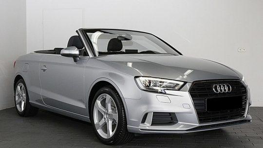 La fin de la production de l'Audi A3 Cabriolet