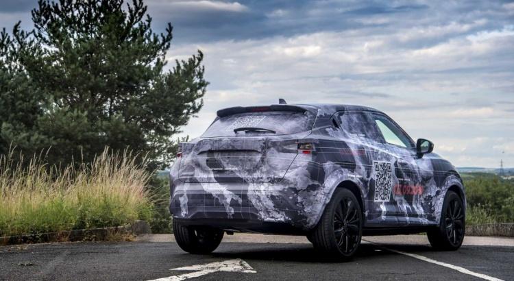 Vue arrière du nouveau Nissan Juke de 2019