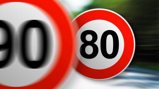 Retour de la vitesse de 90 km/h dans certains départements