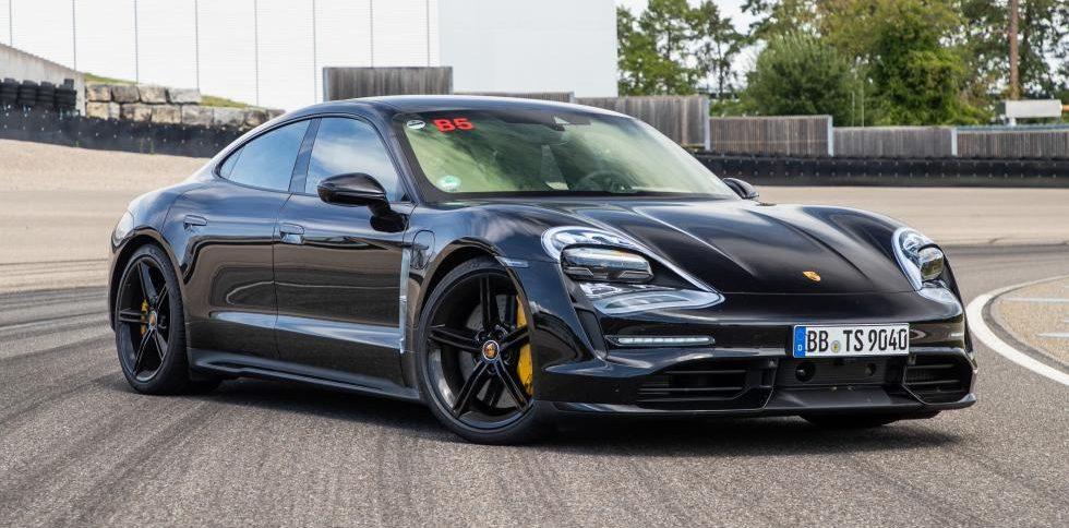 La Porsche Taycan établie un record au Nürburgring